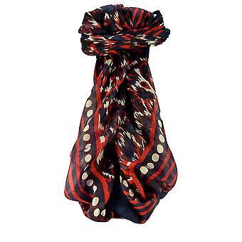 Mulberry silke moderne plassen skjerf geometriske G102 av Pashmina & Silk