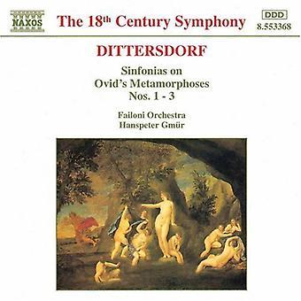 オウィディウス 『 変身物語第 1-3 [CD] USA 輸入の K.D.Von ディッタースドルフ - カール ・ Ditters ・ フォン ・ Dittersdorft: シンフォニア