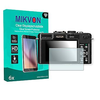 Panasonic Lumix-DMC LX7 Screen Protector - Mikvon Clear (Retail Package with accessories)