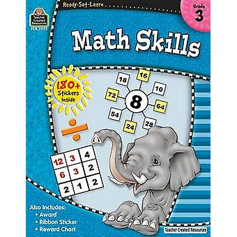 Math Skills - Grade 3 by Teacher Created Resources - 9781420659221 Bo