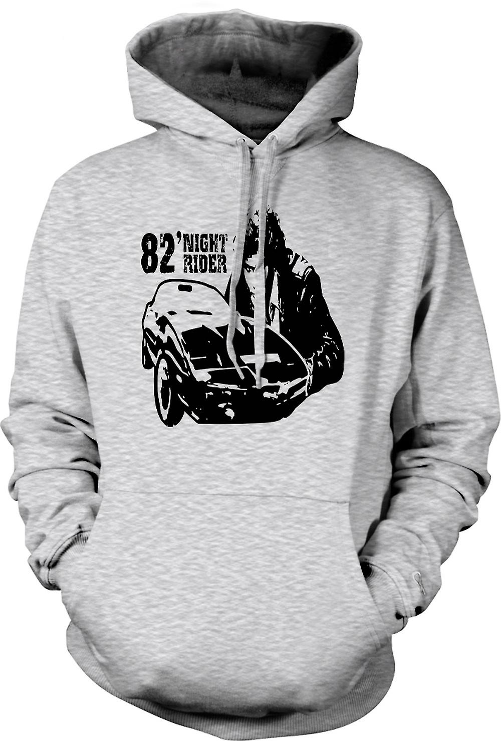 Mens Hoodie - Knight Rider 82 - Trans Am - Retro
