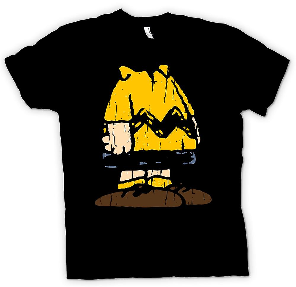 Womens T-shirt - Charlie Brown Costume Design