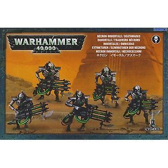 Jeux atelier Warhammer 40 000 Necron immortels/Deathmarks