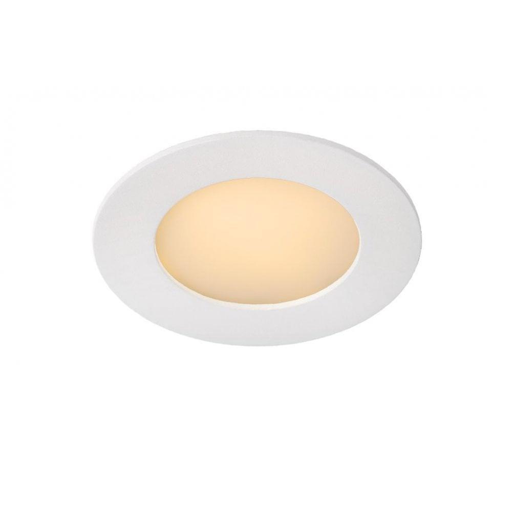 Lucide Brice-LED Modern Round Aluminum blanc Recessed Spot Light