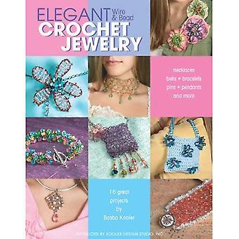 Elegant Wire and Bead Crochet Jewelry
