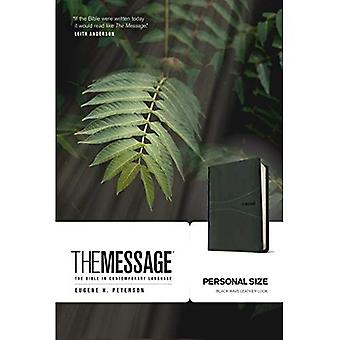 The Message Personal Size, Black Wave, Leather Like