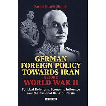 German Foreign Policy Towards Iran Before World War II