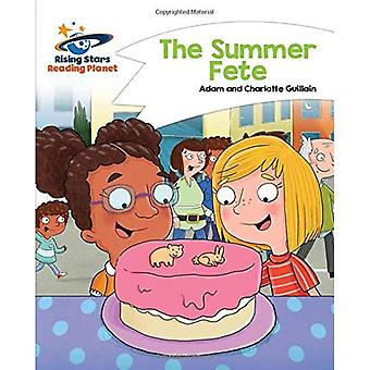 Lezing planeet - de zomer Fete - wit: Komeet Street Kids (Rising Stars planeet lezen)