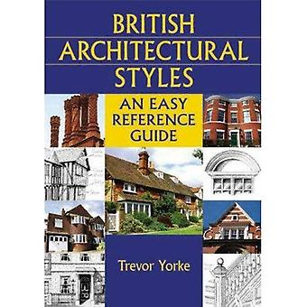 British Architectural Styles: An Easy Reference Guide (England's Living History) [Illustrated]