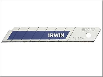 IRWIN Snap-Off Blades 18mm Blue Pack of 8