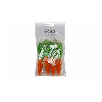 Gisela Graham Easter Carrot Decorations
