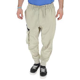 Y-3 Beige Nylon Pants