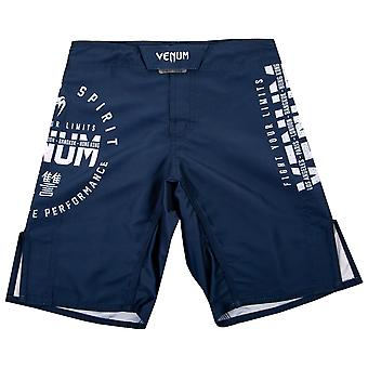 Venum Kinder Signatur MMA Kampf Shorts - Navy Blue