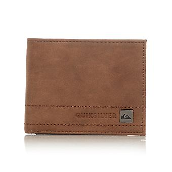 Quiksilver Chocolate Stitchy 3 Trifold Wallet