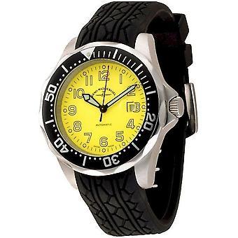 Zeno-watch mens watch diver look II automatic 3862-a9