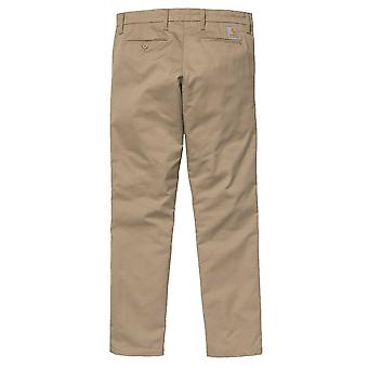 Carhartt WIP Sid Pant Chinos  Leather