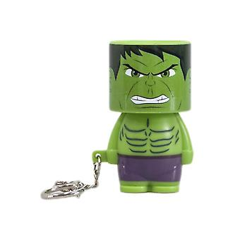 Marvel Hulk Clip-On Look-Alite LED Keyring