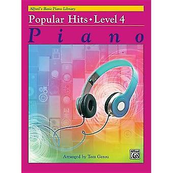 Alfred's Basic Piano Library Popular Hits - Bk 4 by Tom Gerou - 97814