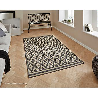 Cottage Tribal Charcoal Rug