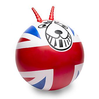 Union Jack Retro Spacehopper With Foot Pump