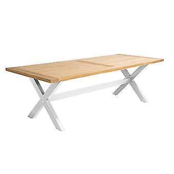 Flughafen7 | Moonlight Tisch 180x90x76 |  Weiß | Gartentische