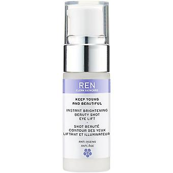 Ren Keep Young & Beautiful Instant Brightening Beauty Shot Eye Lift