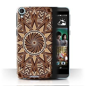 STUFF4 Case/Cover for HTC Desire 820q Dual/Star/Sepia/Mandala Art