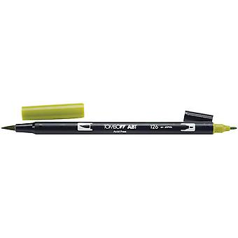 Tombow Dual Brush Marker Open Stock 126 Light Olive Dbp 56513