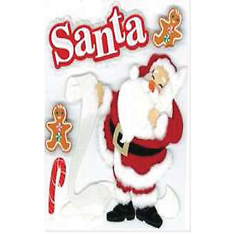 Jolee's Boutique Dimensional Stickers Classic Santa E5020081