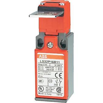 Limit switch 400 Vac 1.8 A Steel lever (straight) momentary ABB LS32P16B11 IP65 1 pc(s)