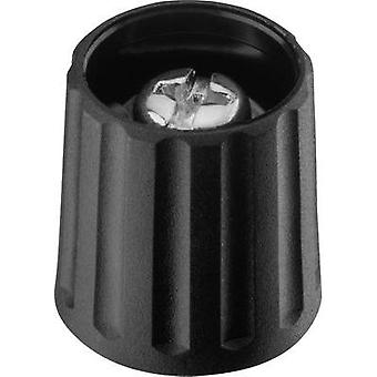 Control knob Black (Ø x H) 15 mm x 16.2 mm Ritel 26 15 60 3 1 pc(s)