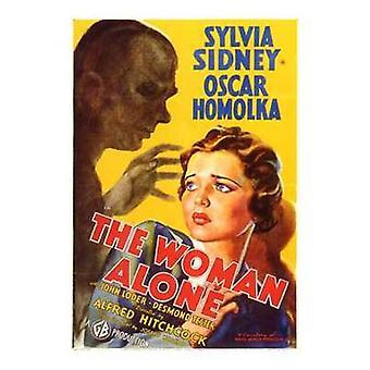 Kvinde alene film plakat (11 x 17)