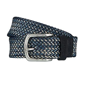 Windsor. Belts men's belts leather belt woven belt blue 4182