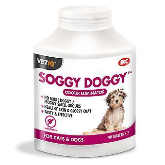 Dyrlægen Iq klæg Doggy 90 Tabletter