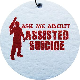 Assisted Suicide Car Air Freshener