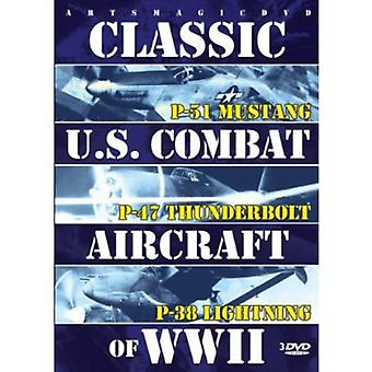 Classic U.S. Combat Aircraft of WW2 [DVD] USA import