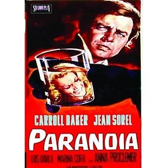 Paranoia [DVD] USA import