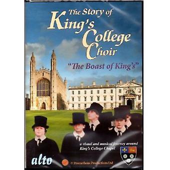 Kings College Choir - berättelse av Kings College Choir [DVD] USA import
