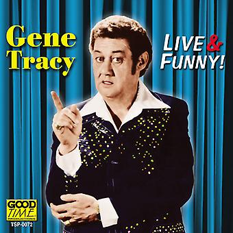 Genet Tracy - Live & Funny [CD] USA import
