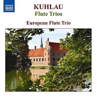Kuhlau/Friedrich - Friedrich Kuhlau: Flute Trios [CD] USA import