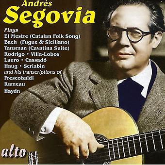 Andres Segovia - Andr S Segovia Plays... [CD] USA import