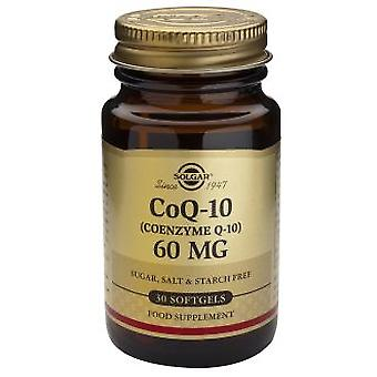 Solgar Coenzyme Q10 60Mg. 30Vegicaps (Vitamines en Suplementen , Speciale supplementen)