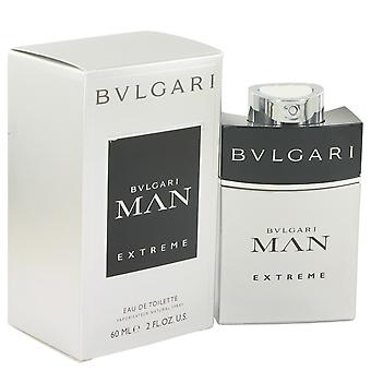 Bvlgari Men Bvlgari Man Extreme Eau De Toilette Spray By Bvlgari