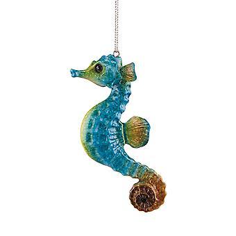 Cozumel Reef blå Seahorse Christmas Holiday Ornament