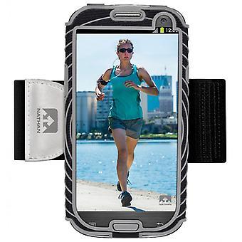 Nathan Sonic Boom Armtasche für Samsung Galaxy S3 Grau 4924NBS