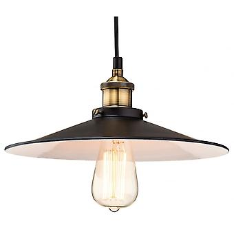Firstlight Vintage Antique Black Fisherman Hanging Ceiling Light