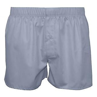 Hanro Fancy Woven Boxer Shorts, Light Blue