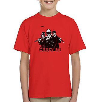 Join The Gang Crazy 88 Kill Bill Kid's T-Shirt