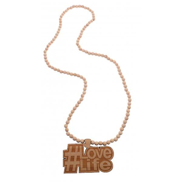 W.A.T Large Wooden #Lovelife #TAG Pendant