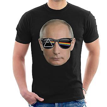Lado oscuro de la camiseta de los hombres de Vladimir Putin